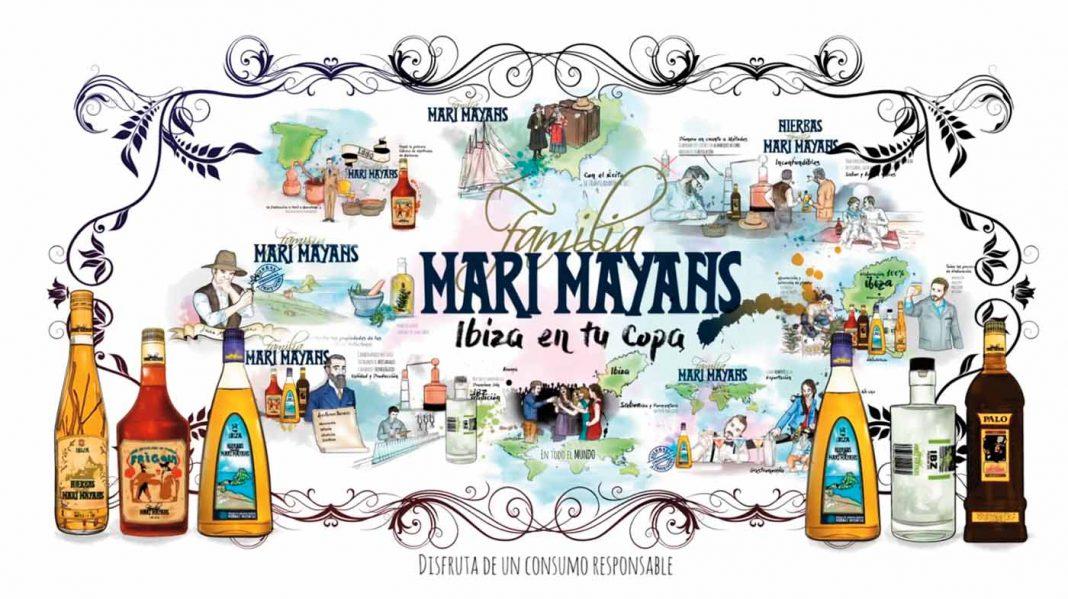 IBZPremium Gin se suma a las Hierbas Ibicencas, Frígola, Palo y Absenta de Familia Marí Mayans.
