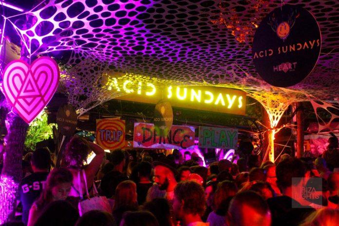 El luminoso de Acid Sundays volverá a brillar esta noche. Foto: Jesus Sierra