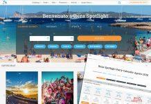 Fácil, cómoda e intuitiva, así es la renovada plataforma web de Ibiza Spotlight. Fotos: Ibiza Spotlight
