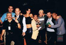José Pascual. Foto de la familia de los Dj Awards en 1998, año en que se fundó.