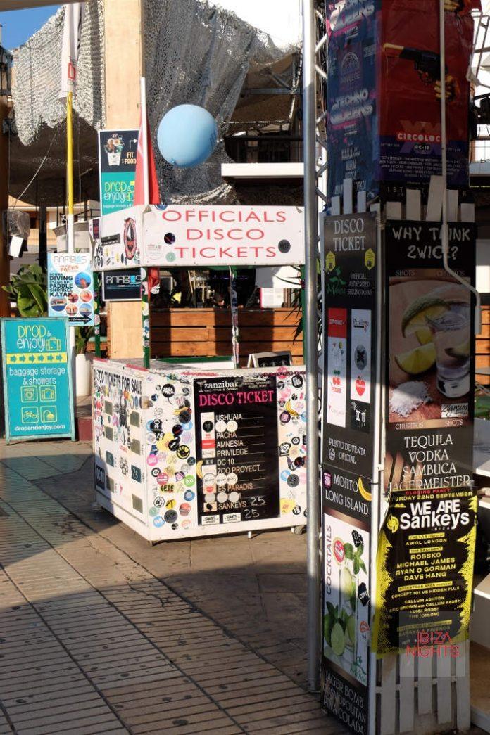 venta de tickets en Ibiza