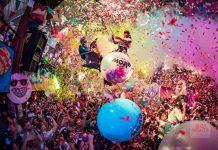 Una puesta en escena digna de una de las fiestas más disparatadas de la temporada. Fotos: David Pareja