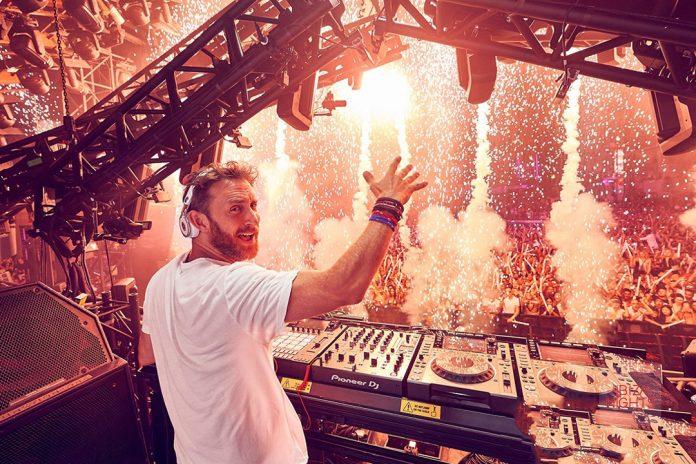 David Guetta con su fiesta de música de sonidos EDM,'Big', en Ushuaïa es uno de los djs favoritos de lo 'clubbers'.