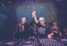Imagen de archivo de Anané y Louie Vega, que acudieron a la rueda de prensa de presentación de la temporada de Heart Ibiza.