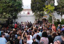 El recinto se llenó de asistentes que no dejaron de bailar. Foto: Lucía Ortín