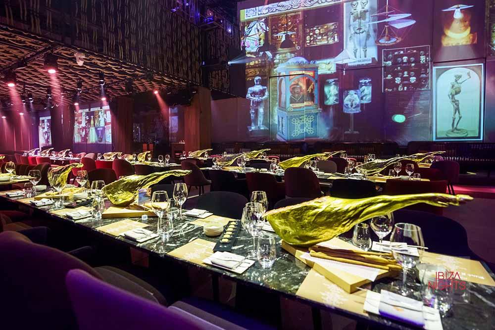 No es una cena, no es un show… Es una experiencia artística que trasciende lo gastronómico.